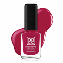 Load image into Gallery viewer, Nail Polish Hearts of Love Fuchsia