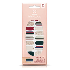 Cocktail Party Insta Gel Nail Strips in package