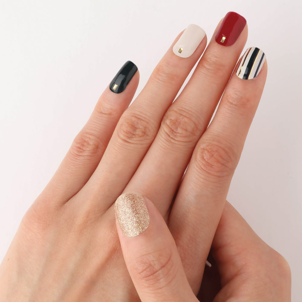 Cocktail Party Insta Gel Nail Strips