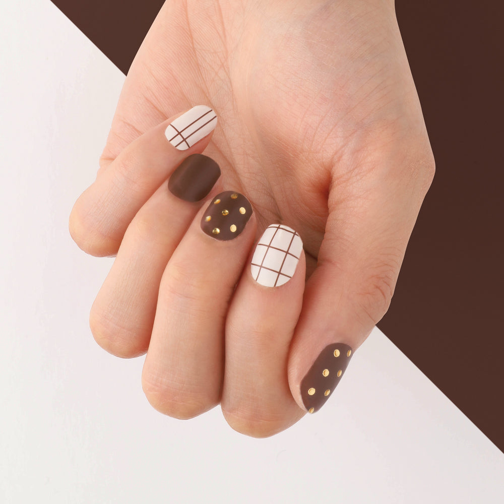 Box of Chocolates Insta Gel Nail Strips
