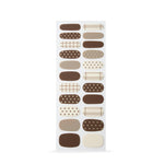 Box of Chocolates Insta Gel Nail Strips cruelty free nail stickers