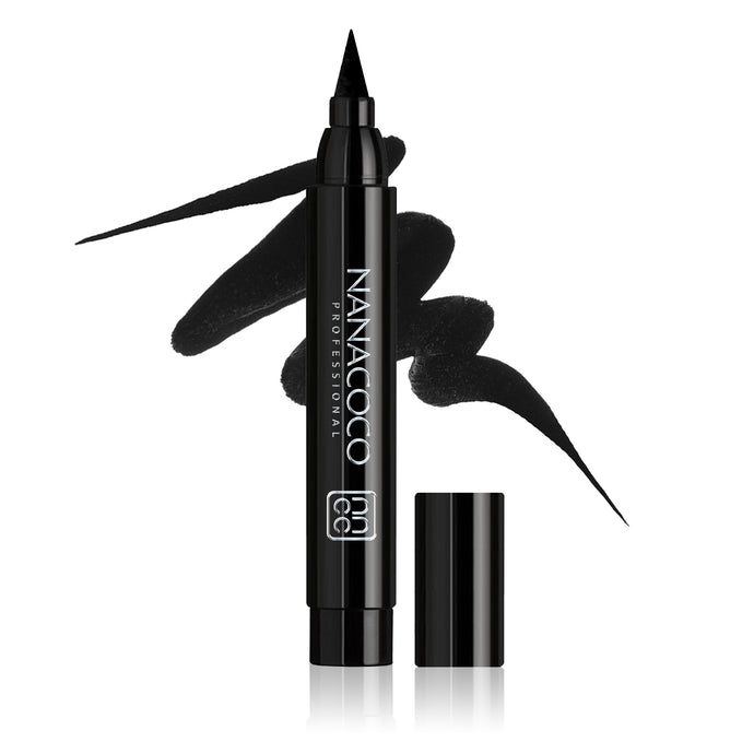 The Boldest Liquid Eyeliner – Black