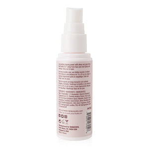 HD Perfection Setting Spray ingredients on the back