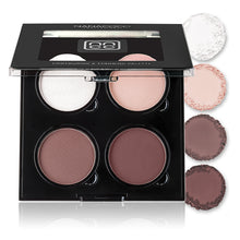 Load image into Gallery viewer, Light contouring and highlighting kit in matte and shimmer formulations