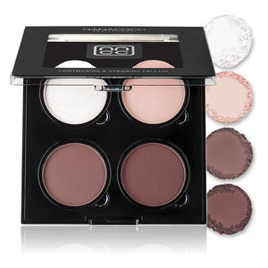Contouring & Strobing Quad Palette Light