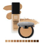 Nanacoco Professional HD Perfection Liquid and Powder Foundation Set More Colors