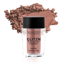 Load image into Gallery viewer, Glitzn Face & Body Pigment Orange Gold