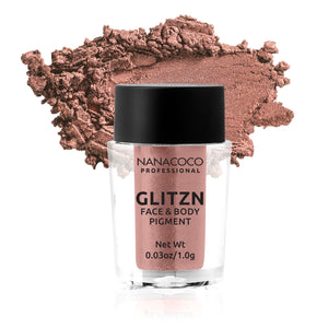 Glitzn Face & Body Pigment Orange Gold