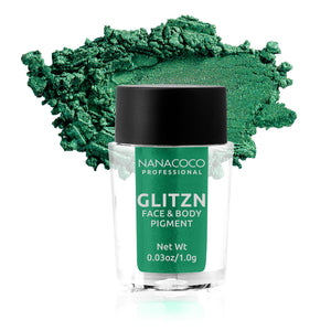 Glitzn Face & Body Pigment Evergreen