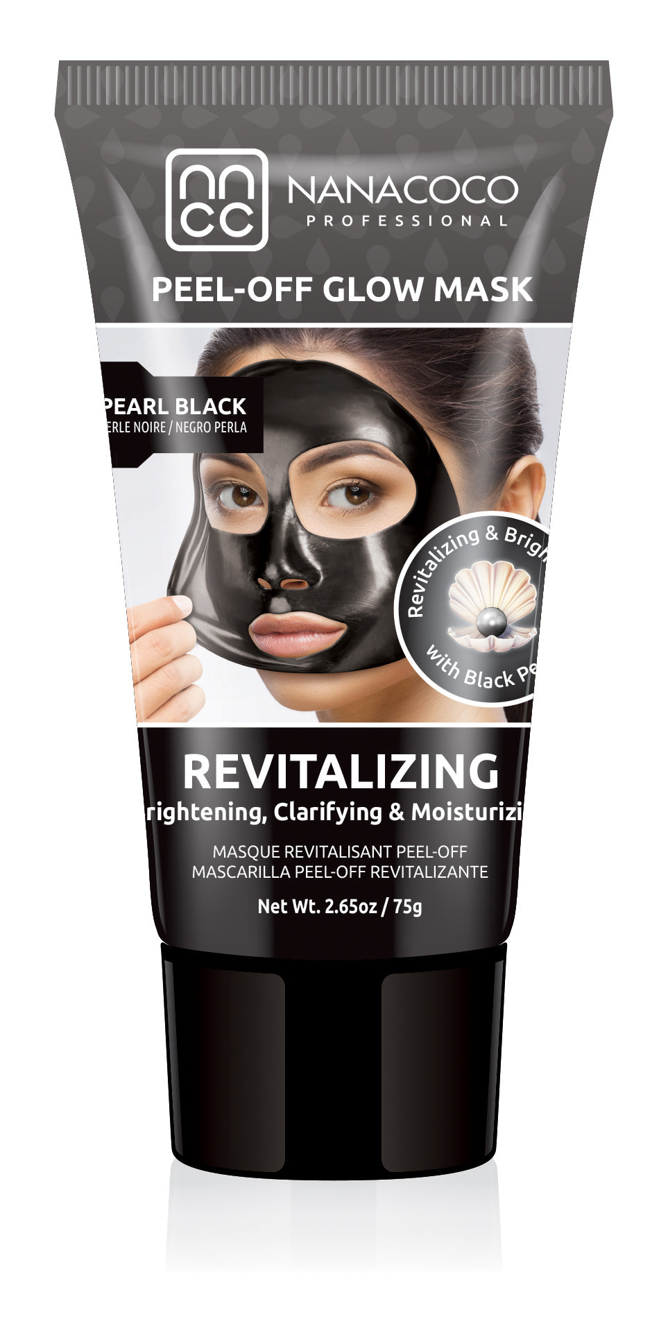 Black Pearl Revitalizing Peel Off Glow Mask Pearl Black