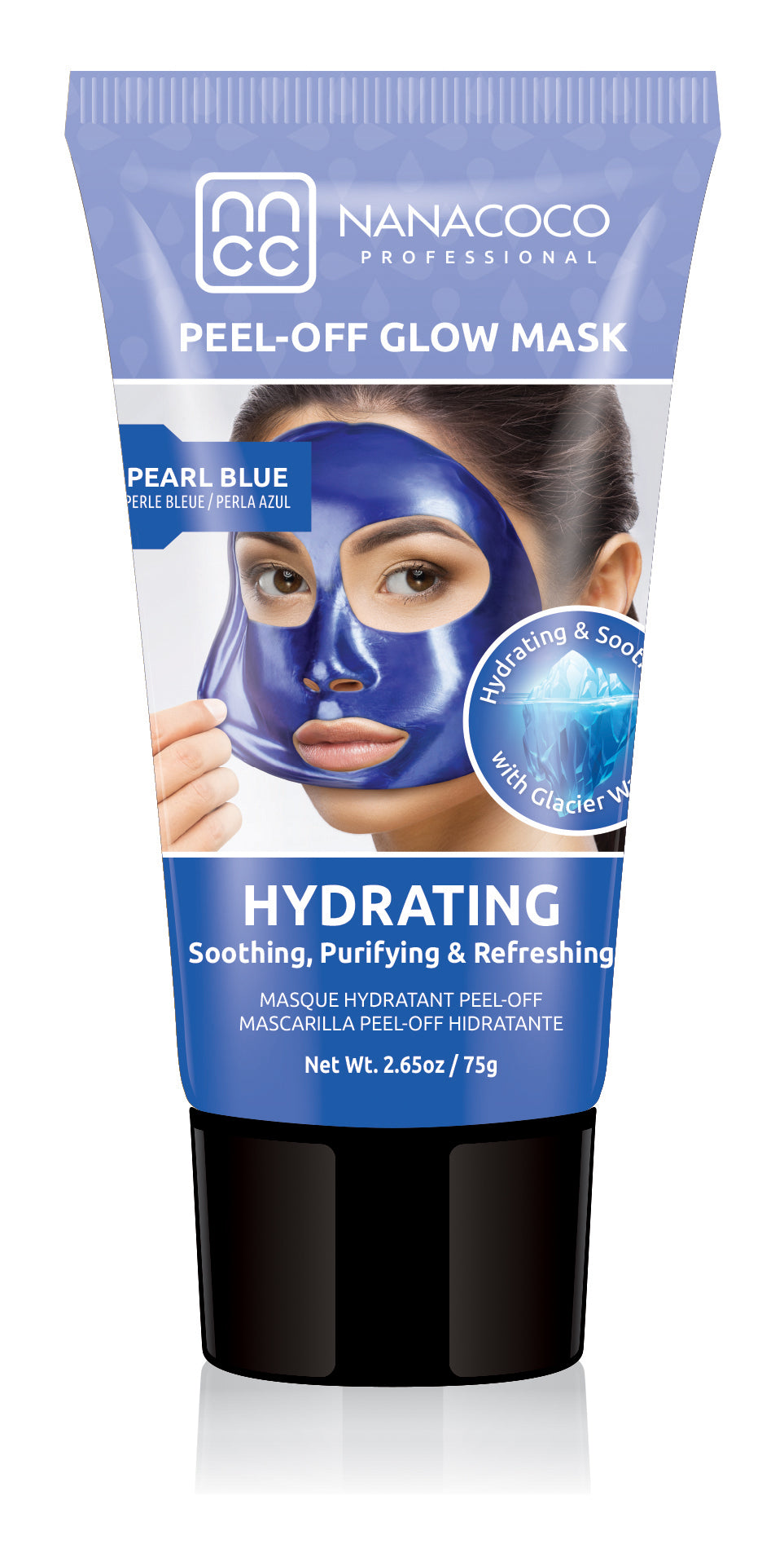 Glacier Water Hydrating Peel Off Glow Mask Pearl Blue