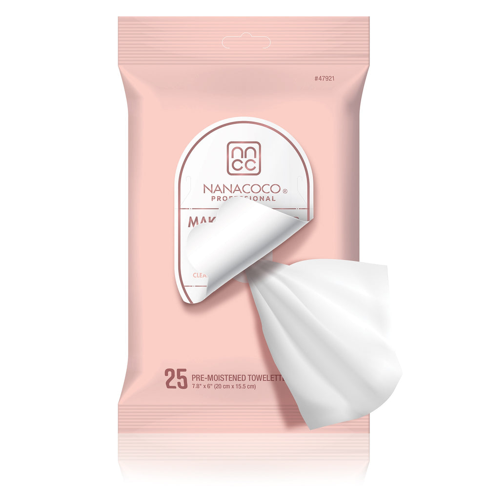 Makeup Remover Cleansing Towelettes Pouch