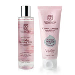 Radiance Glow Micellar Cleansing Water and Foam Cleanser