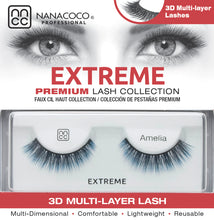 Load image into Gallery viewer, Extreme Lashes – Amelia (Blue 3D)
