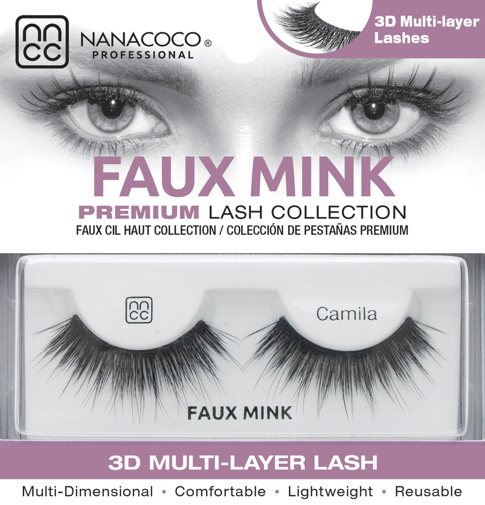Faux Mink Lashes – Camila