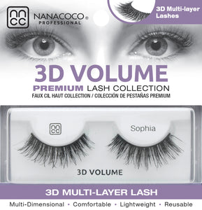 3D Volume Lashes – Sophia
