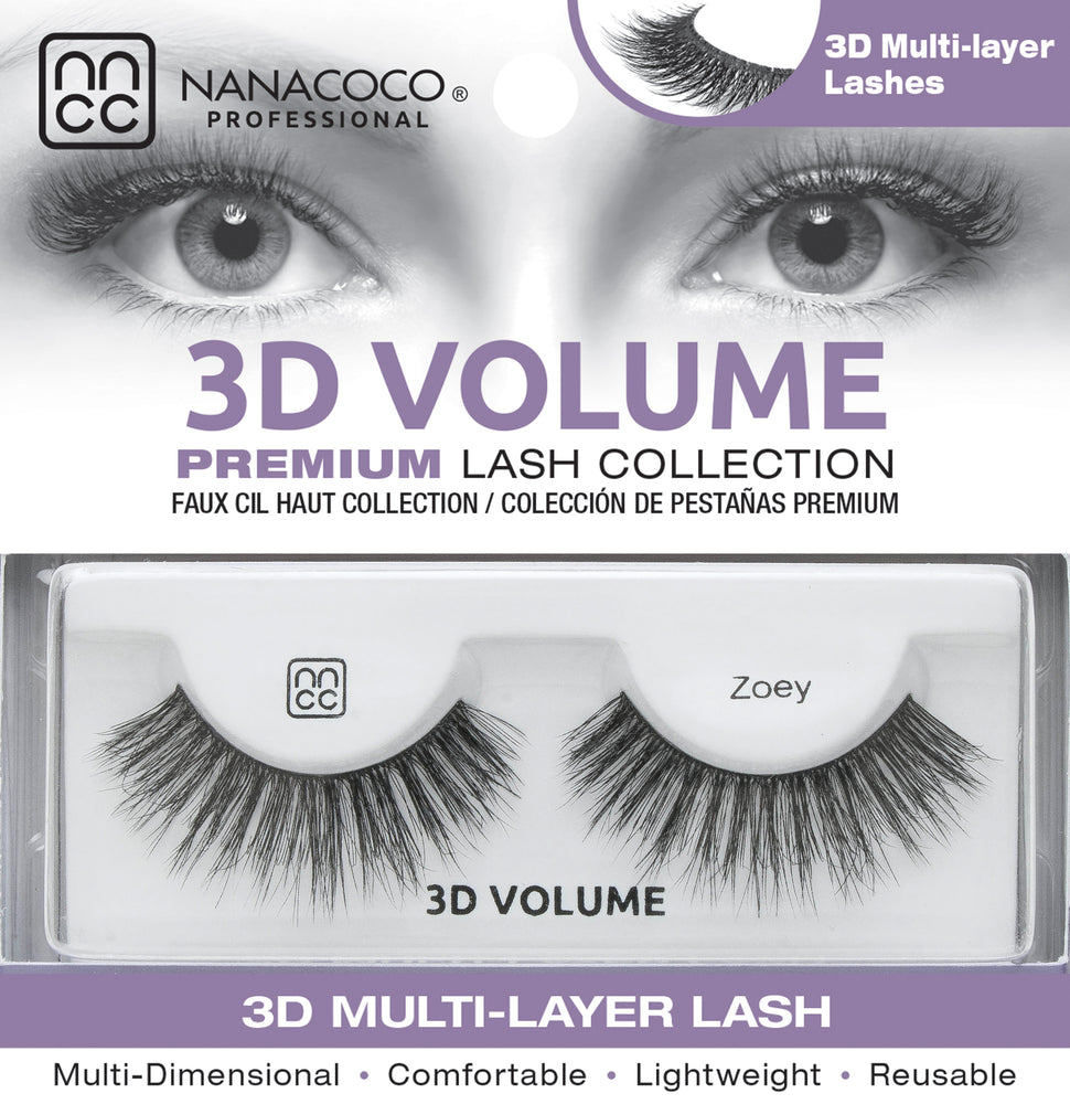 3D Volume Lashes – Zoey