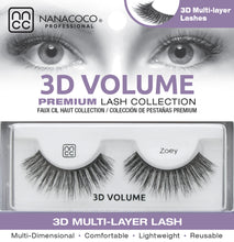 Load image into Gallery viewer, 3D Volume Lashes – Zoey