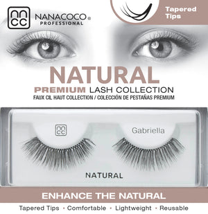 Natural Lashes – Gabriella