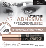 Premium Lash Adhesive 5g Black Biotin Latex Free and cruelty free lash glue
