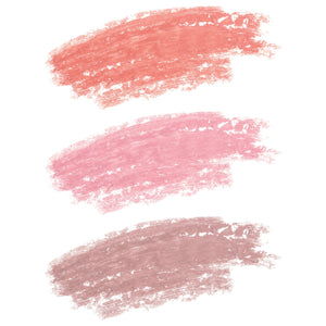 Just Peachy Matte Lip Crayon Trio