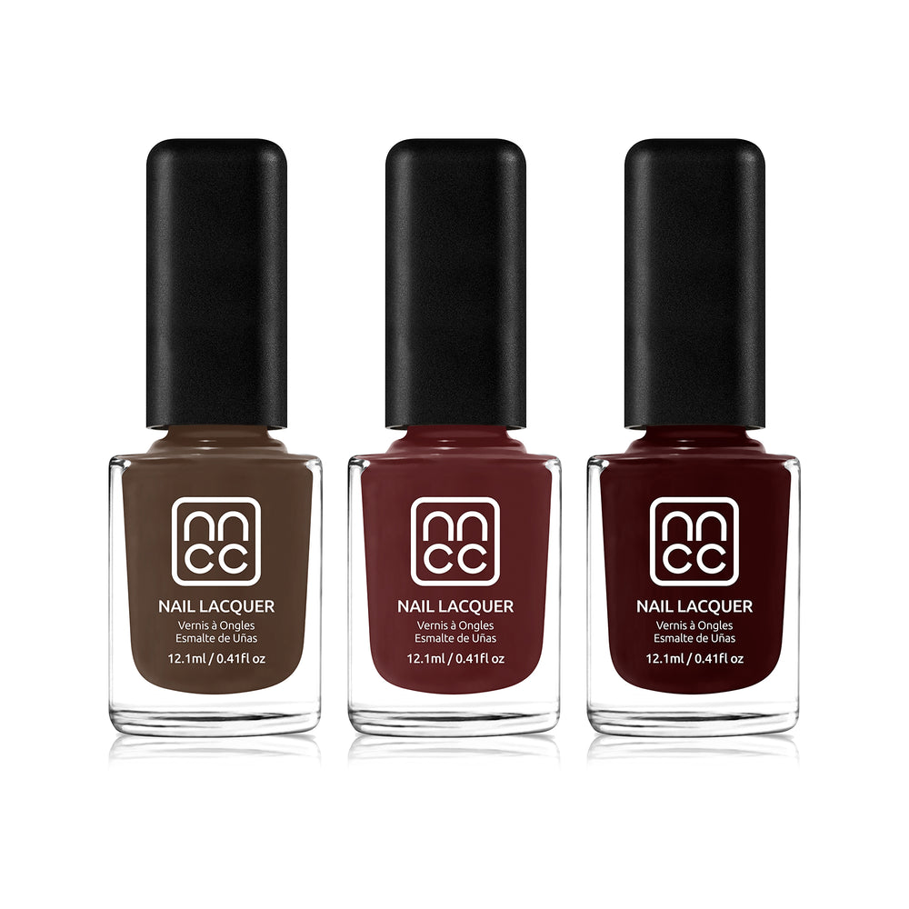 Nanacoco Professional Vegan and Cruelty Free Fall Feels Nail Lacquer Set