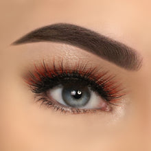Load image into Gallery viewer,  Eyelashes Premium Extreme Orange 3D Harper