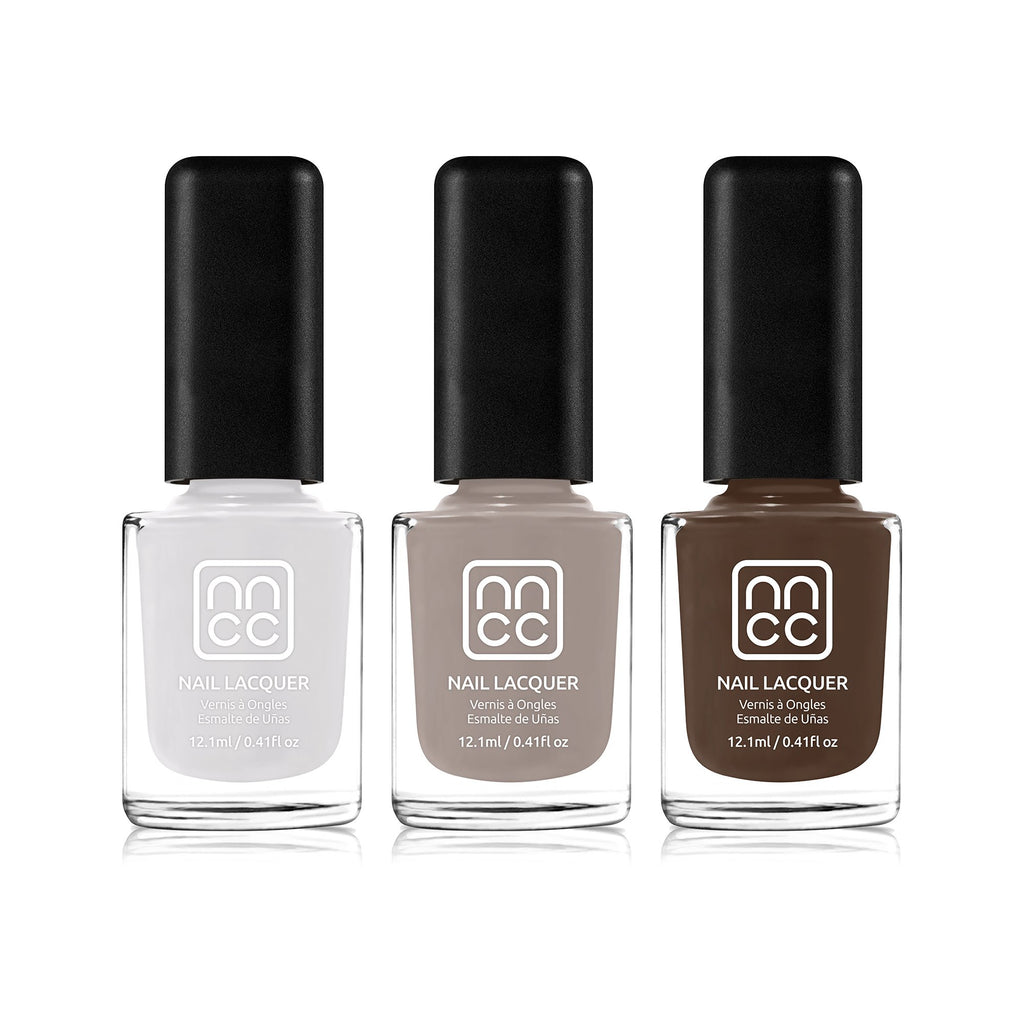Nanacoco Professional Vegan and Cruelty Free Morning Coffee Nail Lacquer Set