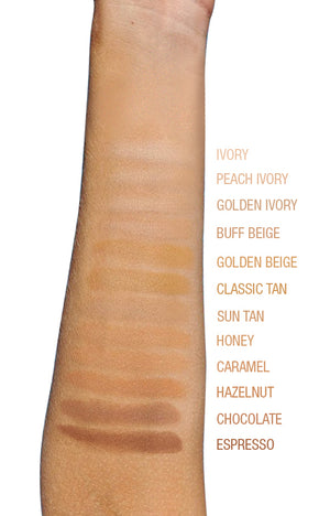 HD Perfection Powder Foundation Arm swatch