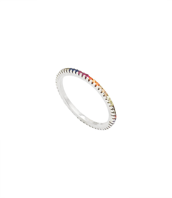 MAKENZIE | BUNTER RING | 925 STERLING SILBER