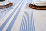 Load image into Gallery viewer, Hampton Tablecloth - Blue (square)