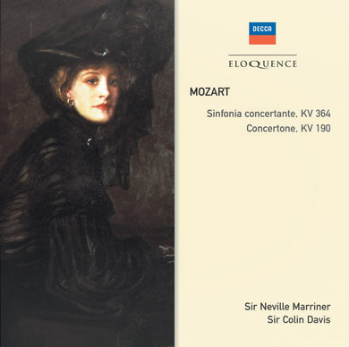 MOZART: Sinfonia Concertante, KV364; Concertone, KV190 - Marriner, Academy of St. Martin in the Fields