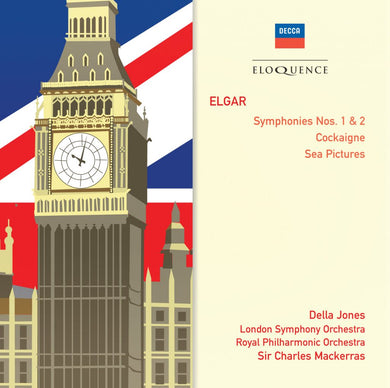 ELGAR: Symphonies Nos. 1 & 2; Cockaigne; Sea Pictures - Mackerras, London Symphony, Royal Philharmonic (2 CDs)