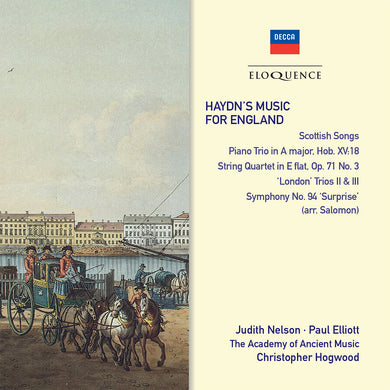 Haydn's Music for England - Academy of Ancient Music, Christopher Hogwood (2 CDs)