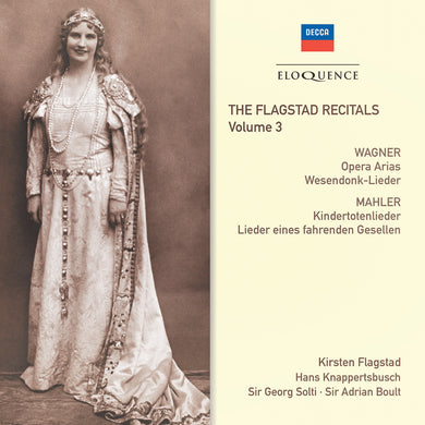 FLAGSTAD RECITALS: VOLUME 3 - Wagner, Mahler (2 CDs)