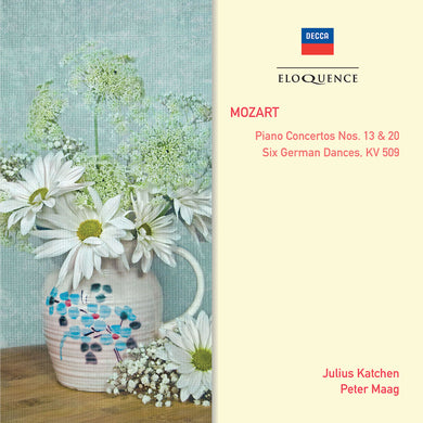 MOZART: Piano Concertos Nos. 13 & 20, Six German Dances - Katchen; Maag, New Symphony Orchestra of London; London Symphony