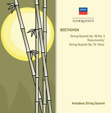 BEETHOVEN: String Quartets Op.59 No.3; Op.74 - Amadeus Quartet