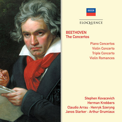 BEETHOVEN: Complete Concertos - Kovacevich, Grumiaux, Arrau, Szeryng, Krebbers, Concertgebouw Orch, LSO (4 CDs)
