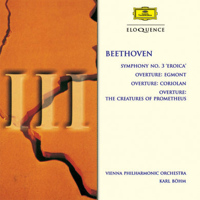 BEETHOVEN: Symphony No. 3, Overtures - Vienna Philharmonic, Bohm