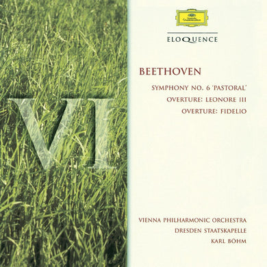 BEETHOVEN: Symphony No. 6, Overtures - Vienna Philharmonic, Bohm