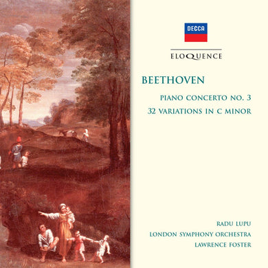 BEETHOVEN: Piano Concerto No. 3; 32 Variations in C Minor - Radu Lupu; London Symphony Orchestra; Lawrence Foster