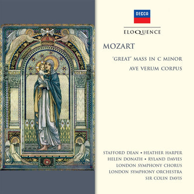 MOZART: 'Great' Mass in C Minor, Ave Verum Corpus - Sir Colin Davis, London Symphony Orchestra