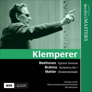 KLEMPERER CONDUCTS BEETHOVEN, BRAHMS AND MAHLER