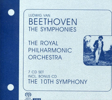 Beethoven: The Symphonies, Overtures, Symphony No. 10 - Royal Philharmonic Orchestra, Czech Chamber Orchestra (7 SACDs)