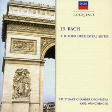 BACH: ORCHESTRAL SUITES 1-4, BWV 1066-1069 - MUNCHINGER, STUTTGART CHAMBER ORCHESTRA