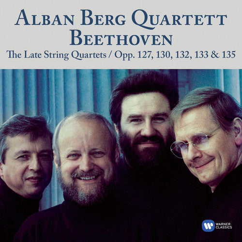 BEETHOVEN: LATE STRING QUARTETS - ALBAN BERG QUARTET (3 CDS)