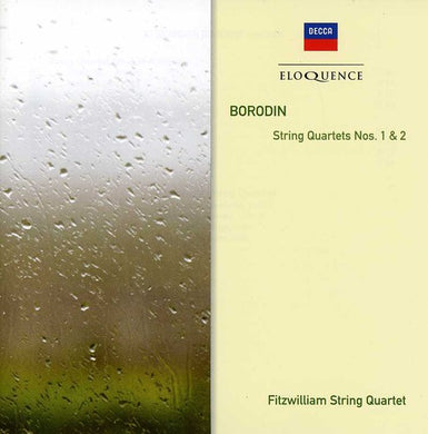 BORODIN: STRING QUARTETS NO. 1 & 2 - FITZWILLIAM STRING QUARTET