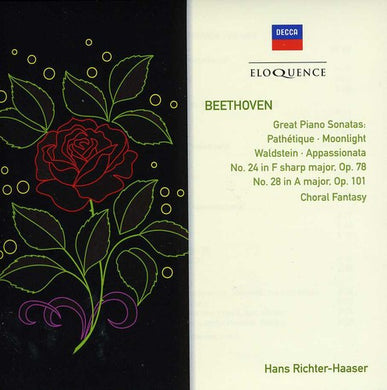 BEETHOVEN: Piano Sonatas; Choral Fantasy - Richter-Haaser; Vienna Philharmonic, Karl Bohm (2 CDs)