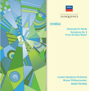 DVORAK: SYMPHONY NO. 9; SERENADE FOR WIND INSTRUMENTS - KERTESZ, VIENNA PHILHARMONIC, LONDON SYMPHONY