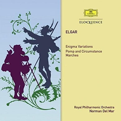 ELGAR: ENIGMA VARIATIONS, POMP AND CIRCUMSTANE MARCH - ROYAL PHILHARMONIC, NORMAN DEL MAR